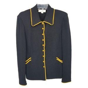 St. John Collection Black & Yellow Jacket